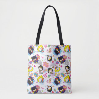 Tote Bag Motif superbe de héroïne de Chibi
