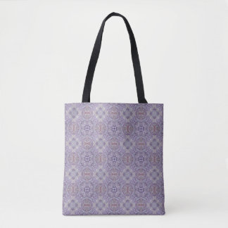 Tote Bag Motif ultra-violet d'édredon