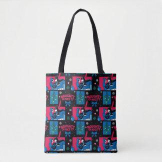 Tote Bag Motif vilain ou Nice de Catwoman de Batman |