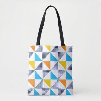 Tote Bag Motifs de triangle