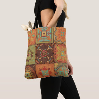 Tote Bag Motifs indiens