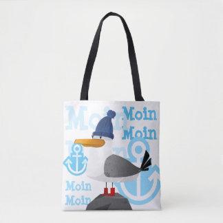 """Tote Bag Mouette de """"Moin Moin"""""""