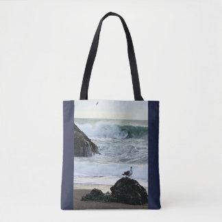 Tote Bag Mouette par la mer