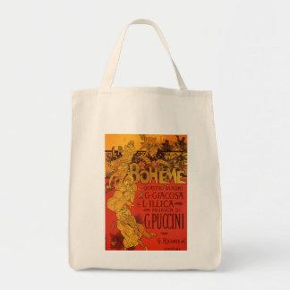 Tote Bag Musique vintage de Nouveau d'art, opéra de Boheme
