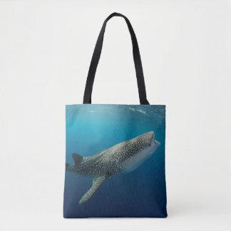Tote Bag Natation de requin de baleine