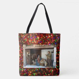 Tote Bag Nativité de bébé Jésus, de Mary et de Joseph