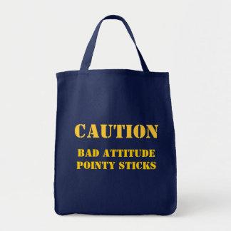 Tote Bag Ne salissez pas avec cette tricoteuse !