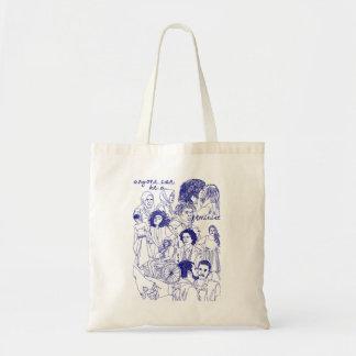 Tote Bag n'importe qui peut être fourre-tout féministe