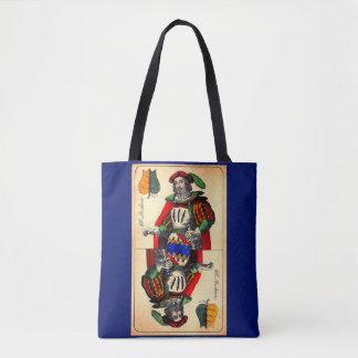 Tote Bag No. du 19ème siècle 1 de carte de tarot