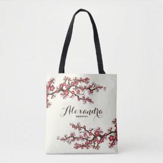 Tote Bag Noce Fourre-tout de Sakura de fleurs de cerisier