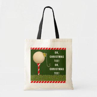 Tote Bag Noël de golf