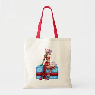 Tote Bag Noël gai de houx