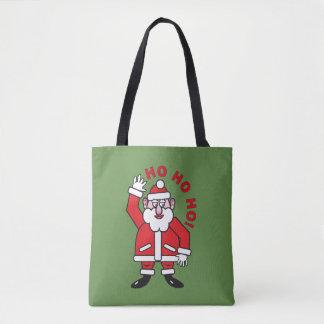 Tote Bag Noël le père noël HO HO HO !