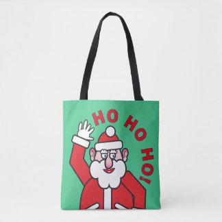 Tote Bag Noël le père noël HO HO HO ! 04,2