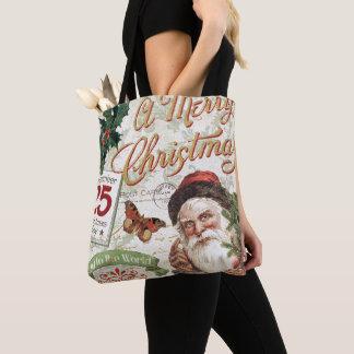 Tote Bag Noël vintage le père noël