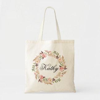 Tote Bag Nom fait sur commande Wedding|Personalized