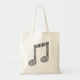 Tote Bag Note Fourre-tout de musique