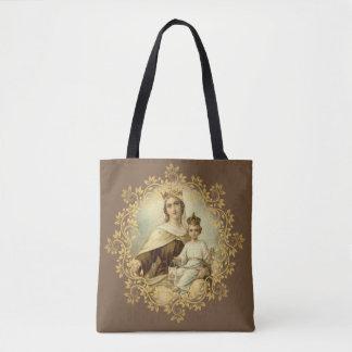 Tote Bag Notre Madame du mont Carmel et de St Therese de