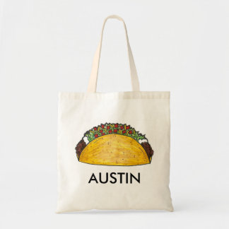 Tote Bag Nourriture mexicaine Austinite de tacos de taco