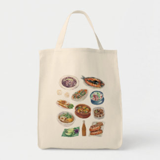 Tote Bag Nourriture philippine traditionnelle dans