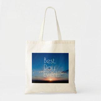 Tote Bag Nouveau naître de jour de lever de soleil