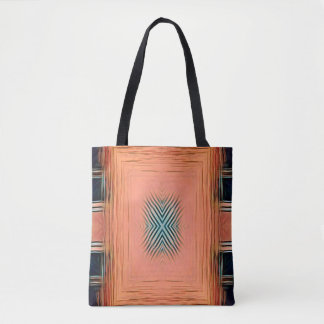 Tote Bag Nuances de modernisme de motif symétrique