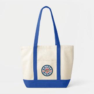 Tote Bag Nuit d'hockey dans le logo du Canada