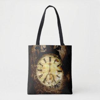 Tote Bag Objet façonné de temps - montre de poche
