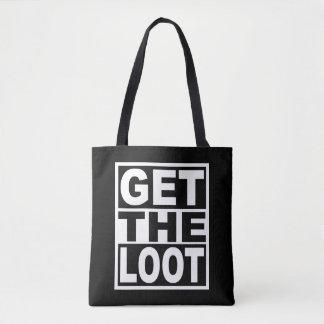 Tote Bag Obtenez le butin