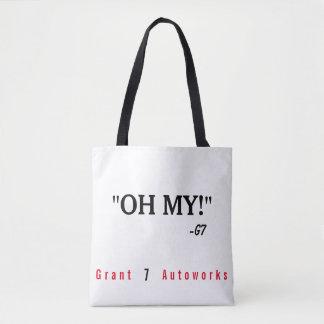 "Tote Bag ""Oh mon ! ""Fourre-tout"