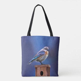 Tote Bag Oiseau bleu (femelle)