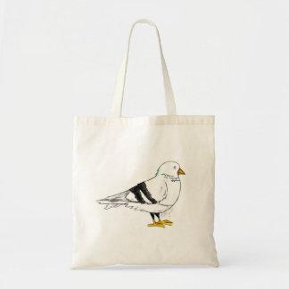 Tote Bag Oiseau Fourre-tout de pigeon de New York City NYC