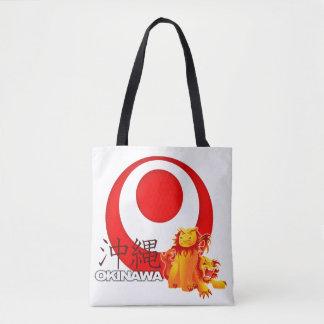 Tote Bag Okinawan Shisa Fourre-tout