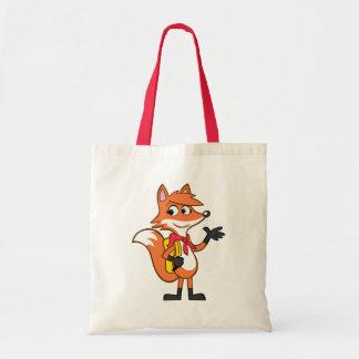 Tote Bag Ondulation de Fox de Rick | Scarlett de garde
