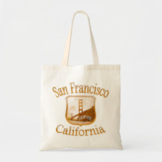 Tote Bag Or de San Francisco la Californie