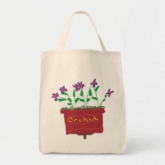 Tote Bag Orchidée