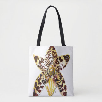 Tote Bag Orchidée d'Ansellia Africana