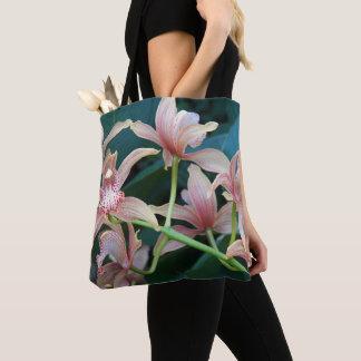 Tote Bag Orchidées tropicales florales