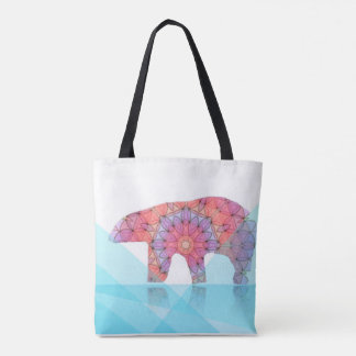 Tote Bag Ours blanc