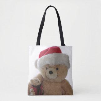 Tote Bag Ours de Père Noël avec peu d'ours