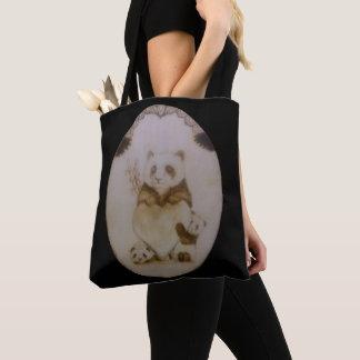 Tote Bag Pandas affectueux
