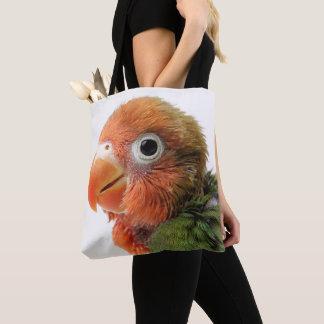 Tote Bag Papillero d'Agapornis du poussin | de perruche