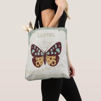 Tote Bag Papillon modelé par cru