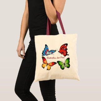 Tote Bag Papillons Animated