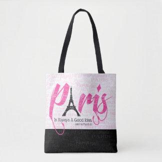Tote Bag Paris est toujours une bonne idée