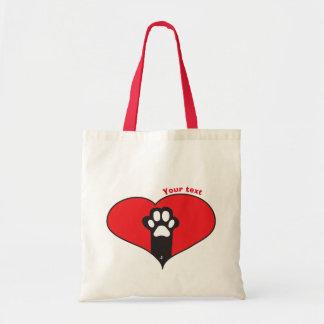 Tote Bag Patte de chat