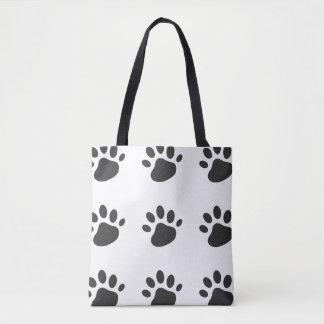 Tote Bag Patte fourre-tout d'animal familier