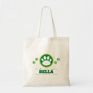 Tote Bag Pattes vertes pratiques d'animal familier