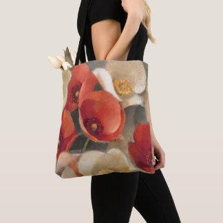 Tote Bag Pavots en pleine floraison