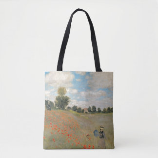 Tote Bag Pavots sauvages de Claude Monet |, près